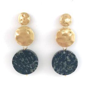 Jewelry - Three Tier Deco Drop EarringsArt Deco inspired ear